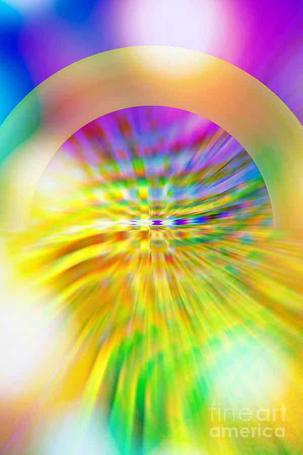 Pouring Sunshine And Rainbows by Rachel Hannah