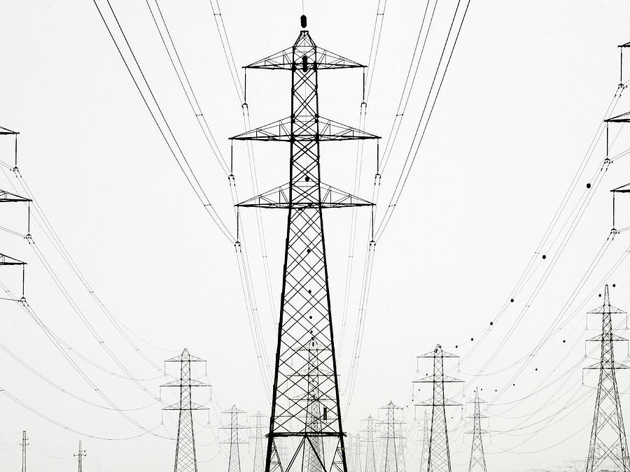 Power Lines Photograph by George Kavanagh