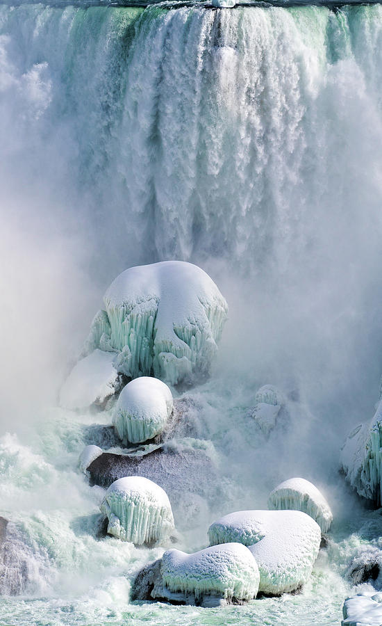 Water Photograph - Power of Niagara by Christopher Behrend