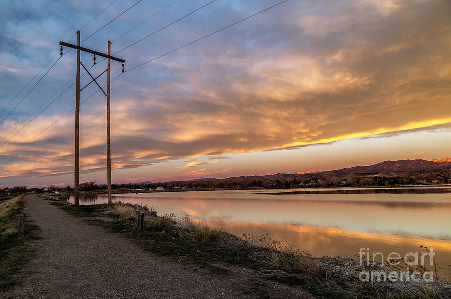Power On Sunrise by Ronda Kimbrow