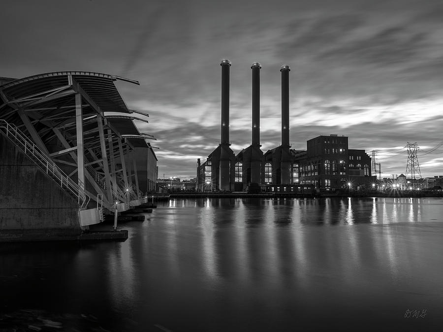 Power Station Providence RI II BW by David Gordon