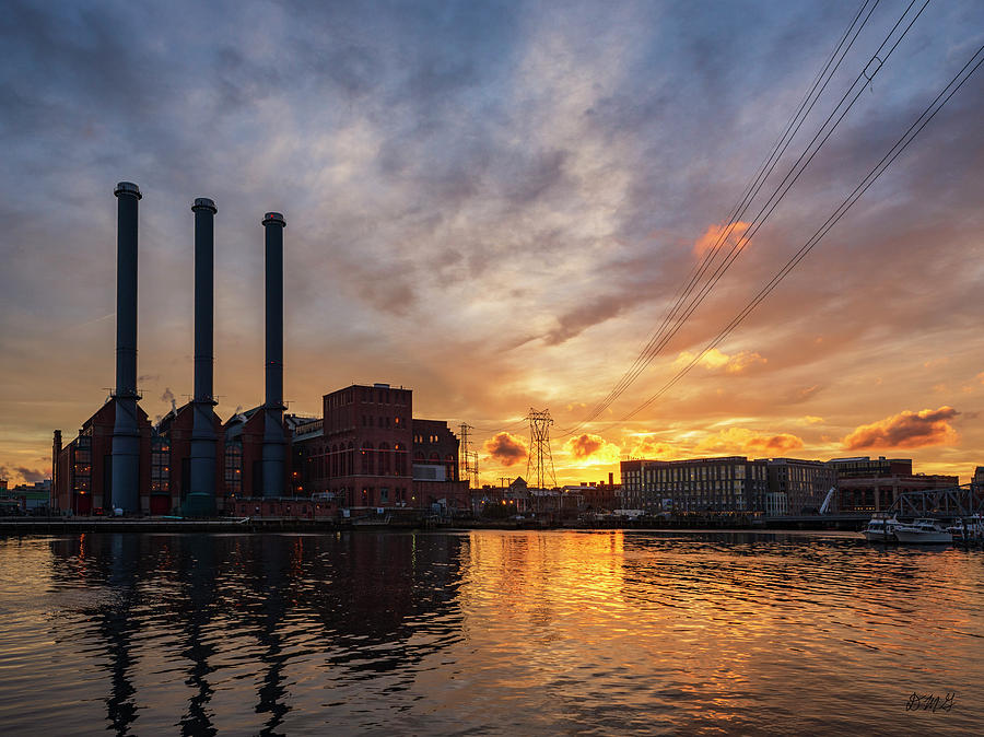 Power Station Providence RI III Color by David Gordon