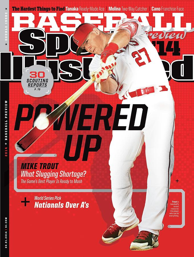 Powered Up 2014 Mlb Baseball Preview Issue Sports Illustrated Cover Photograph by Sports Illustrated