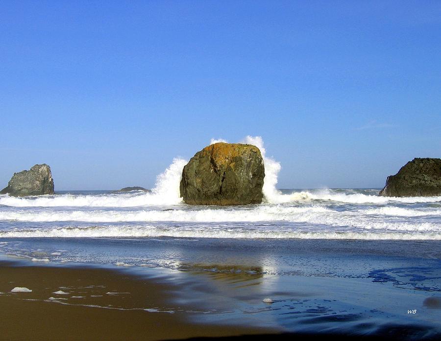 Powerful Oregon Waves Photograph