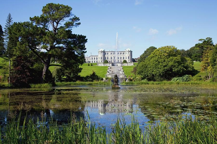 Powerscourt House And Gardens Photograph by Design Pics / Peter Zoeller