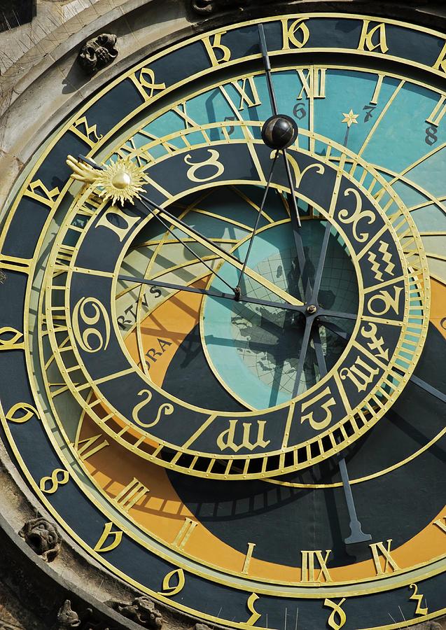 Prague Astronomical Clock Photograph by Tetra Images