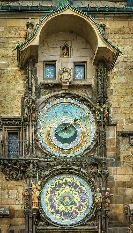 Prague Clock by Steven Sparks