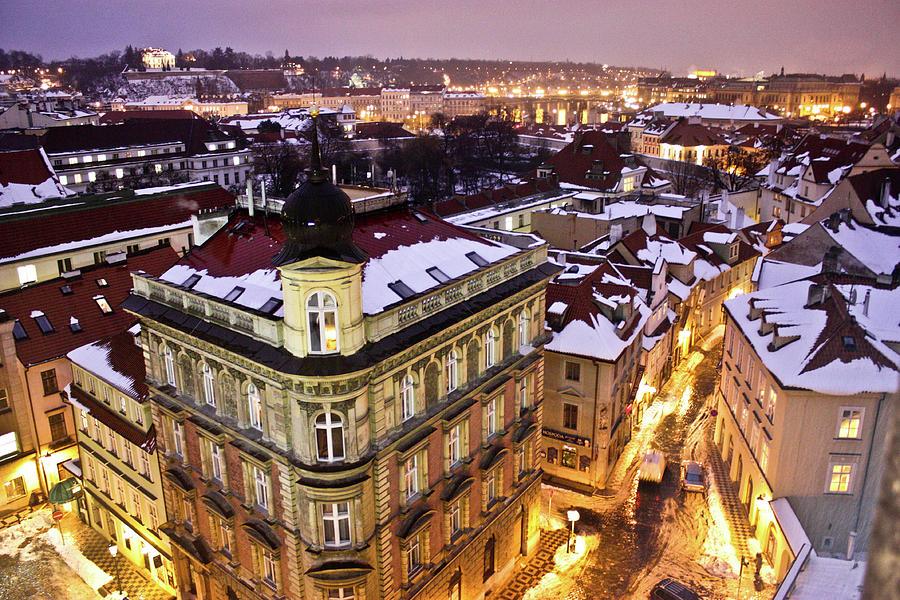 Prague Lights Photograph by Usman Baporia