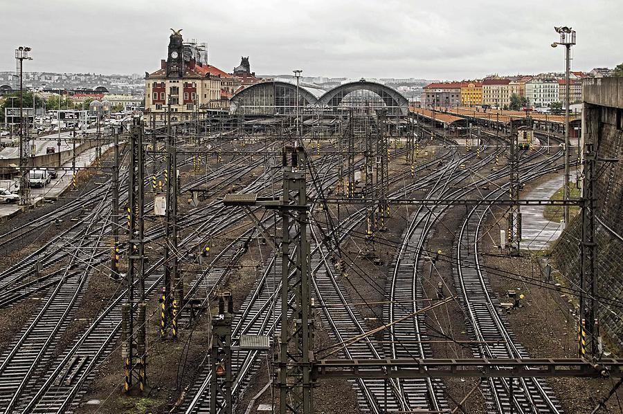 Prague Main Train Station - 1 Photograph by Hany J