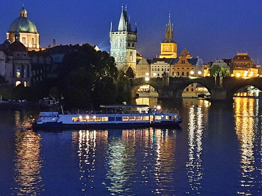 Prague Reflections by Andrea Whitaker