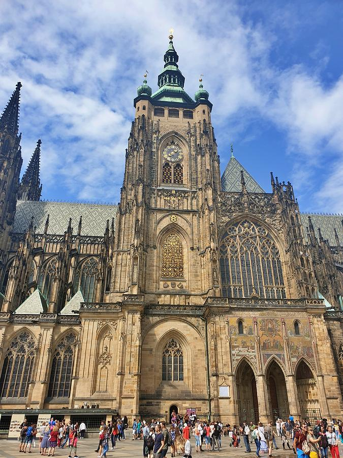 Prague's Grand Cathedral by Andrea Whitaker