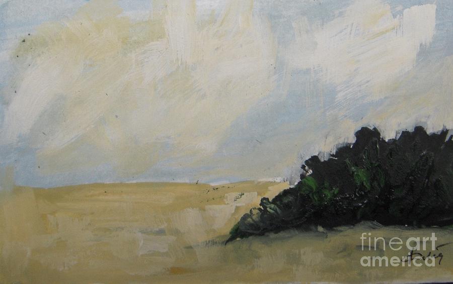 Prairie Painting - Prairie Afternoon by Vesna Antic