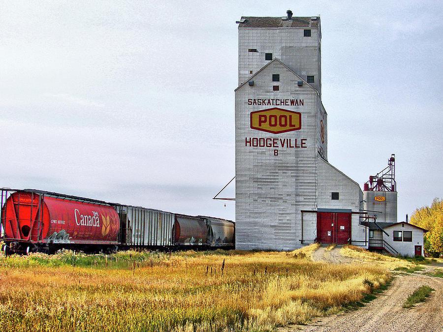 Prairie Autumn Harvest Landscape by Blair Wainman