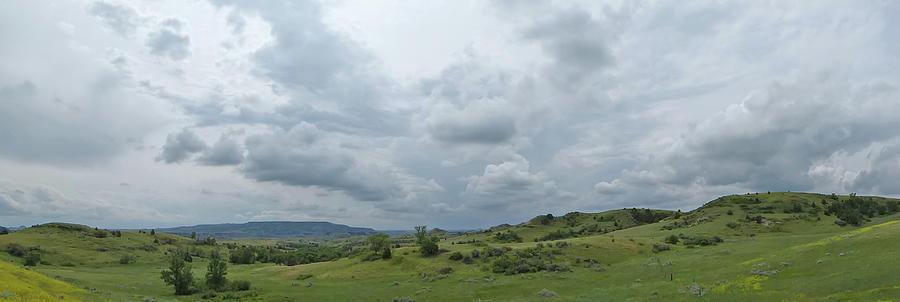 Prairie Sky in July by Cris Fulton