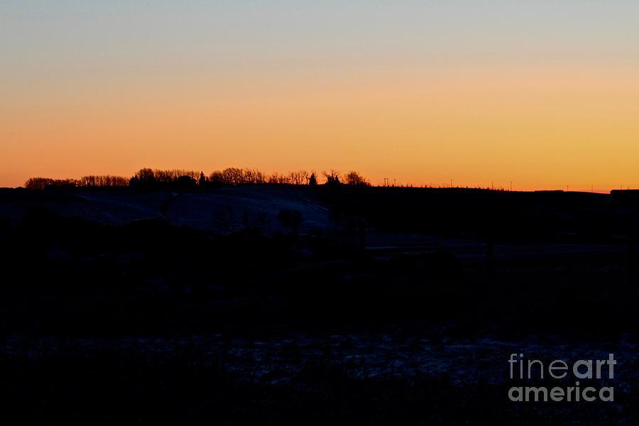 Prairie Sunrise by Ann E Robson
