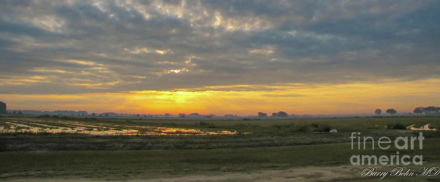 Prairie sunrise by Barry Bohn