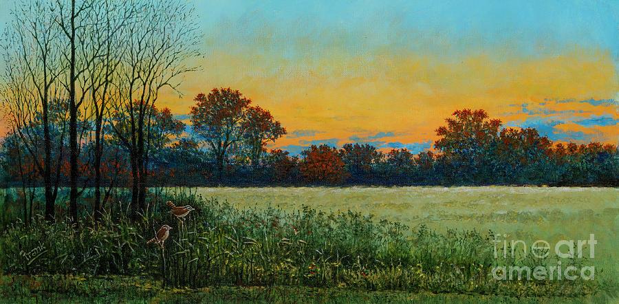 Prairie Sunset by Michael Frank