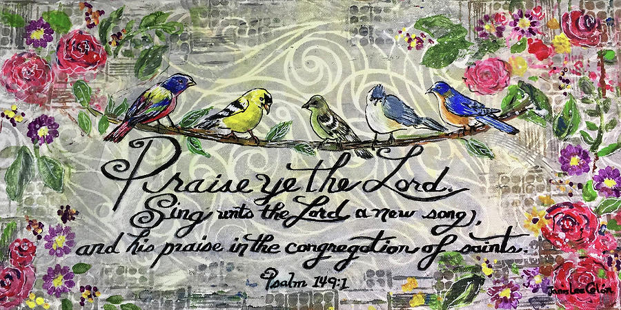 Praise Birds by Janis Lee Colon