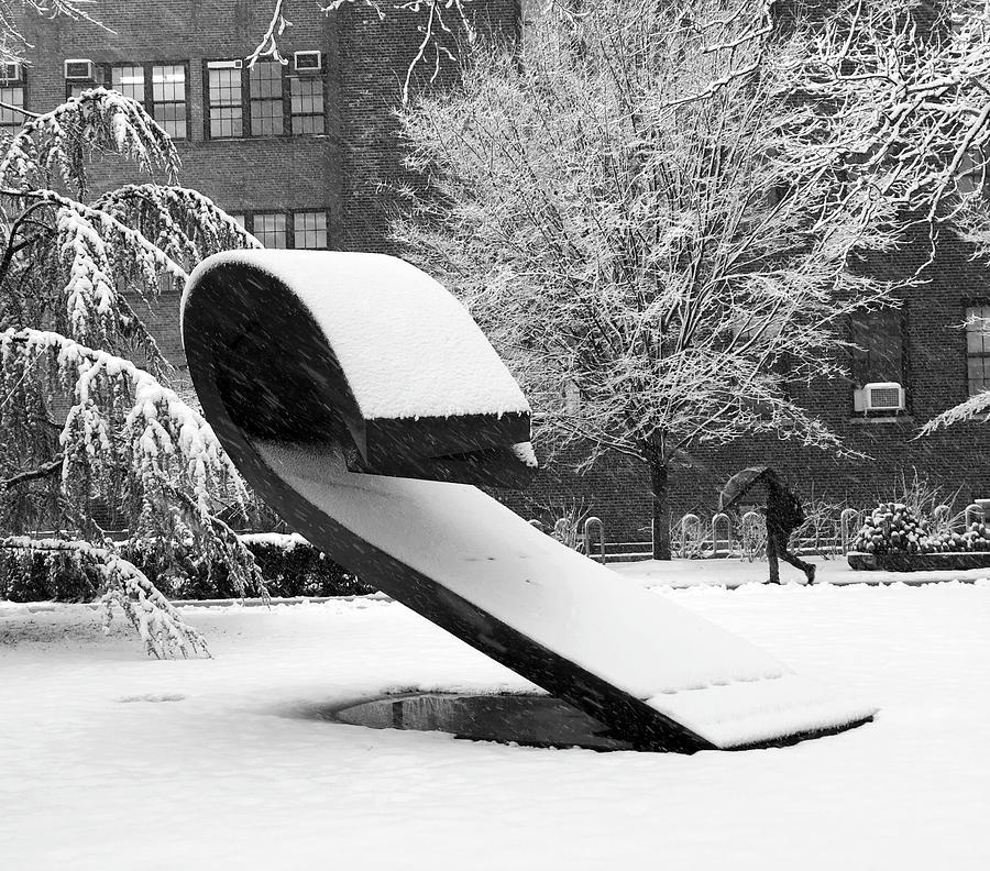 Pratt Institute Sculpture Park by Michael Gerbino