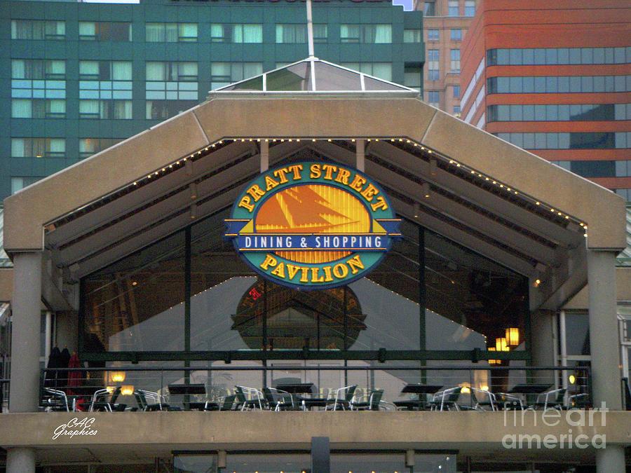 Pratt Street Pavilion by CAC Graphics