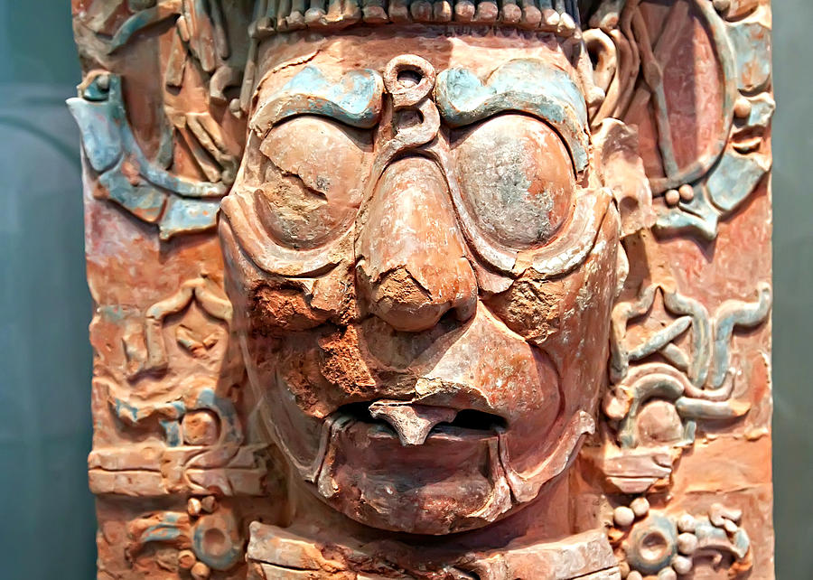 Maya Photograph - Pre-columbian Eye Glasses, Palenque, Mexico by Tatiana Travelways