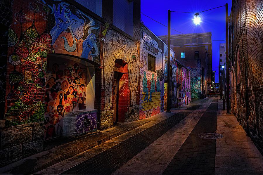 Pre-Dawn Freak Alley by Michael Ash