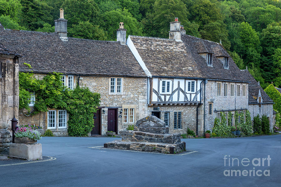 Pre-Dawn in Castle Combe by Brian Jannsen
