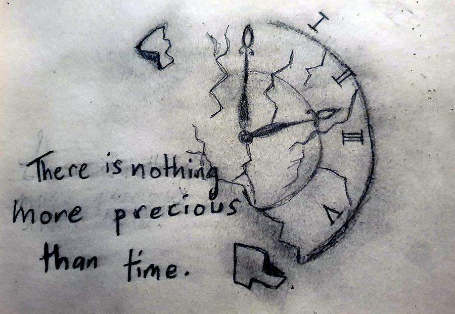 Precious time Drawing by Sophie Finnegan