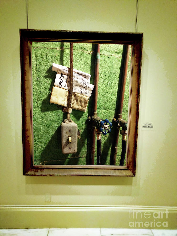 Art Galleries Photograph - Predawn - Unidentified Objects  by Steven Digman