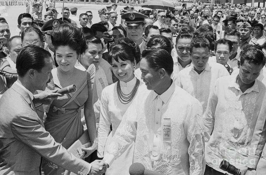 Premier Nguyen Cao Ky In The Philippines Photograph by Bettmann