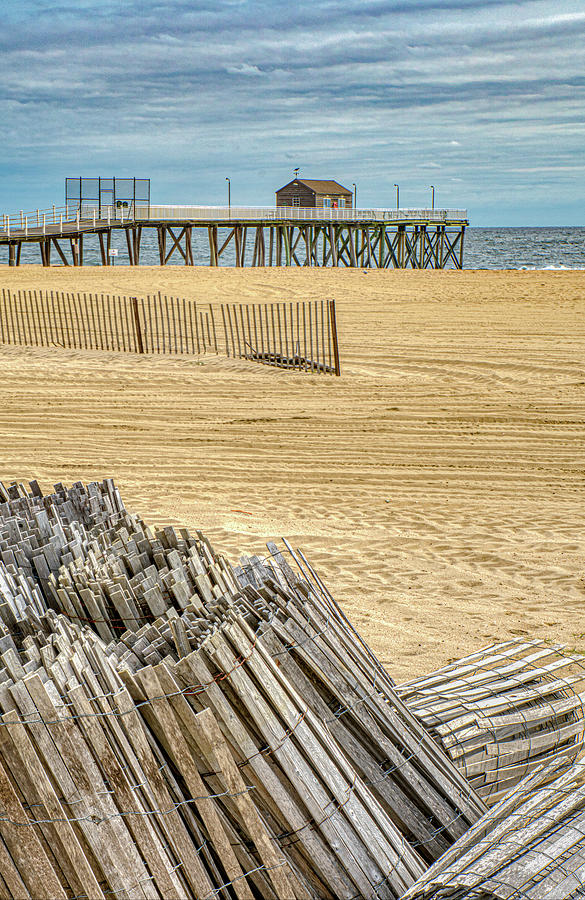 Preparing For Winter At The Beach by Gary Slawsky