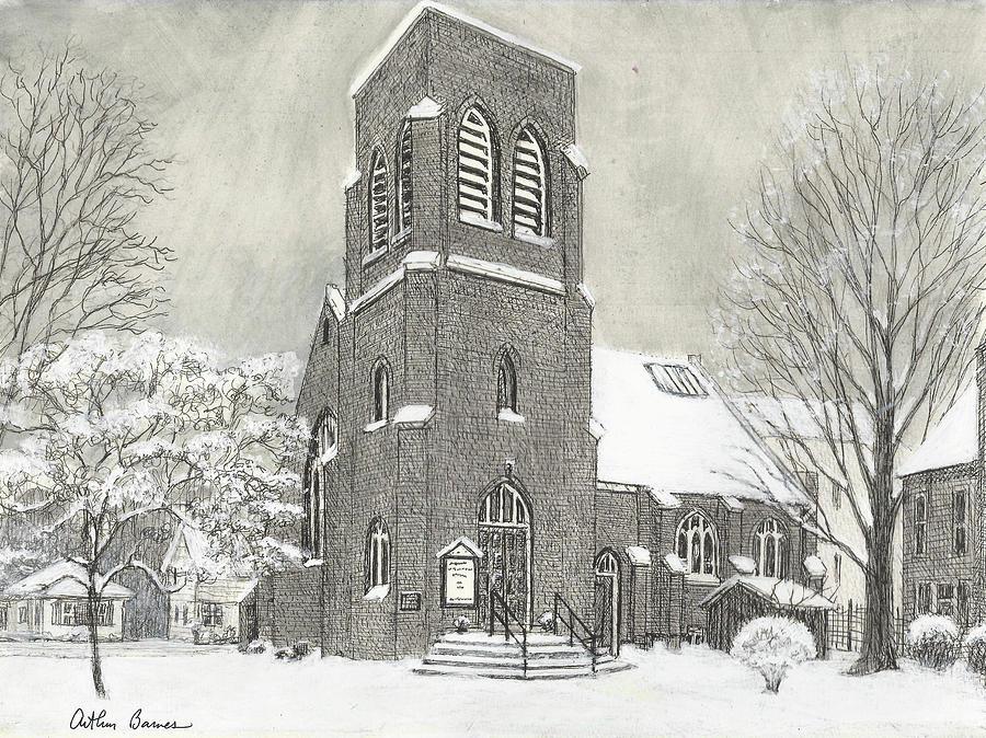 Presbyterian Church Holley Drawing