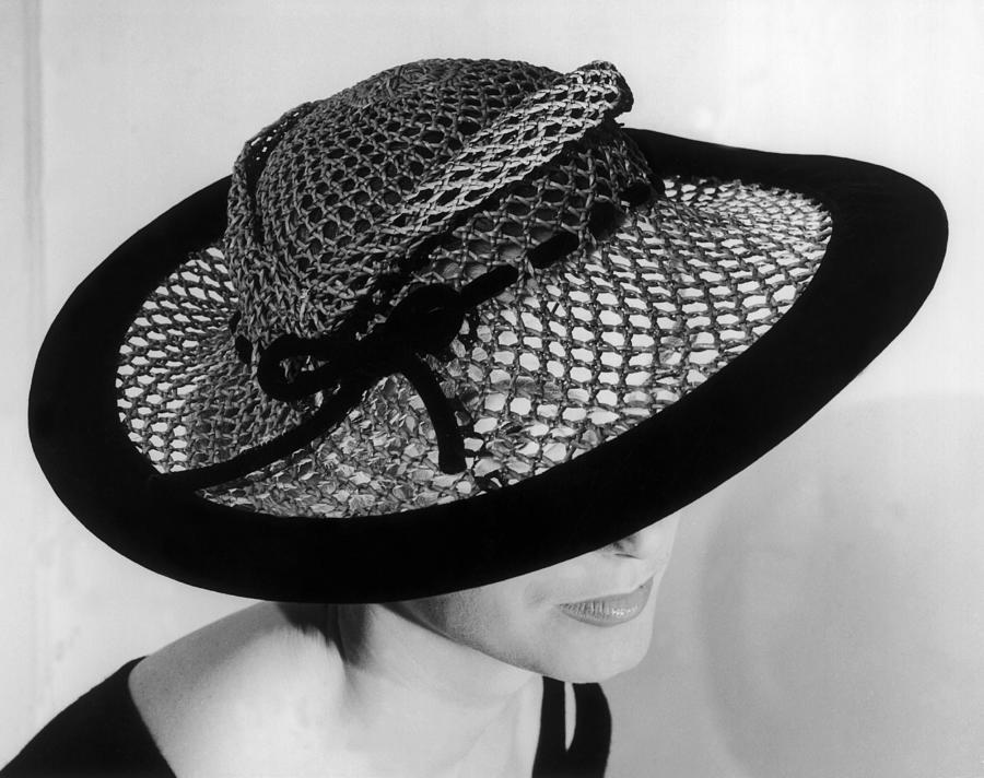 Presentation Of The Basket Hat Photograph by Keystone-france