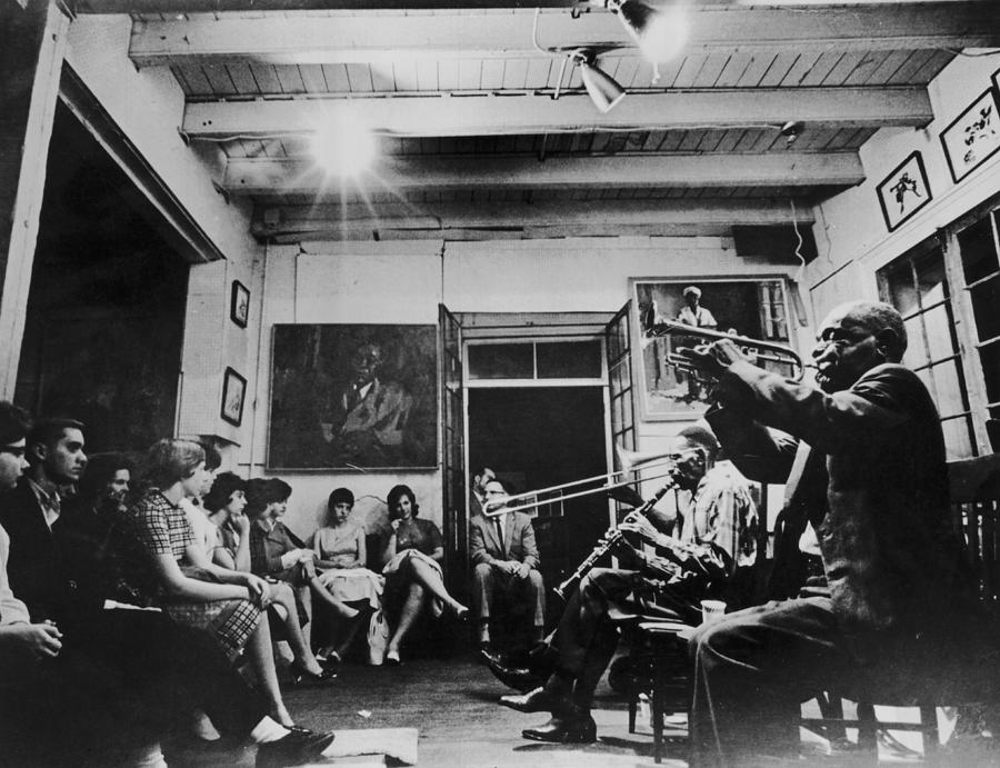 Preservation Hall Jazz Band Photograph by Archive Photos