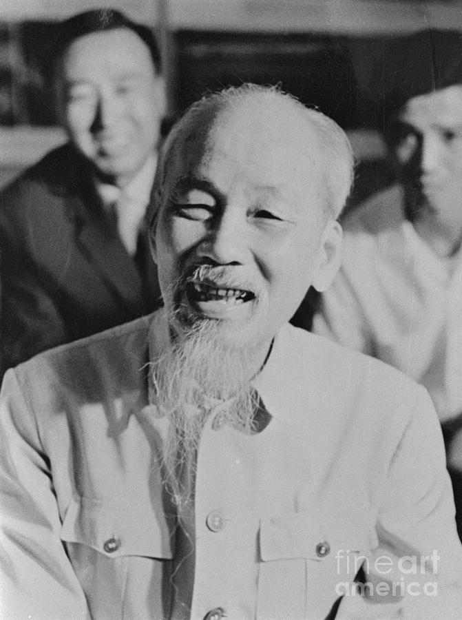 President Ho Chi Minh Of North Vietnam Photograph by Bettmann