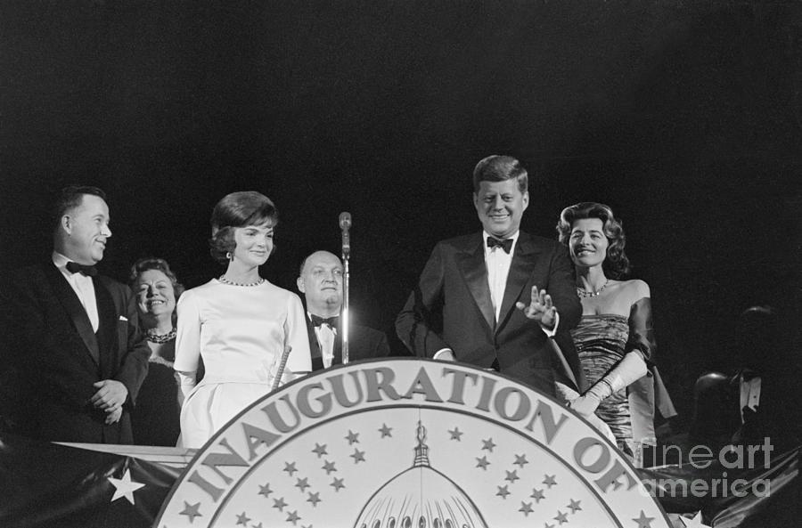 President Kennedy At Pre-inaugural Gala Photograph by Bettmann