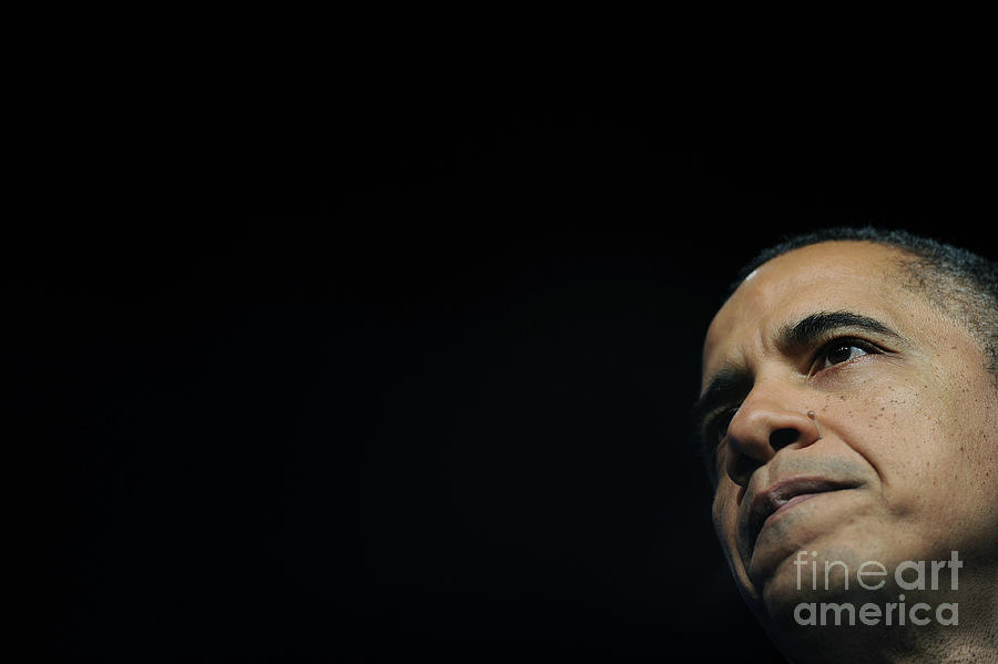 President Obama Speaks At 71st General Photograph by Pool