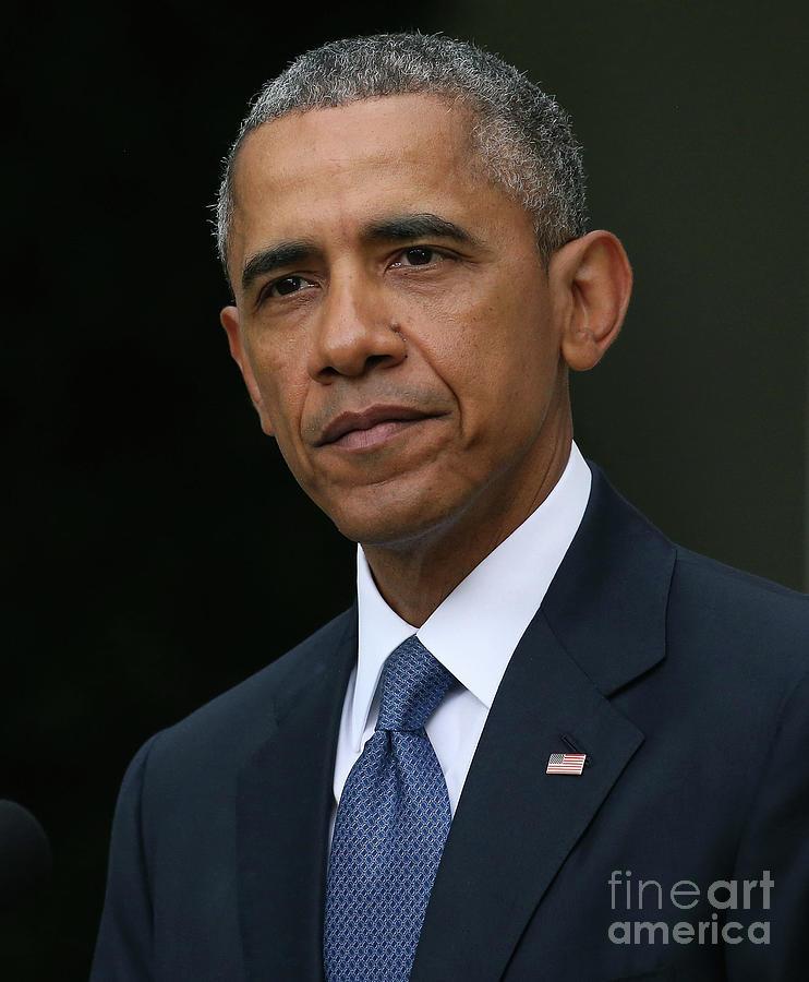 President Obama Speaks On Supreme Court Photograph by Mark Wilson