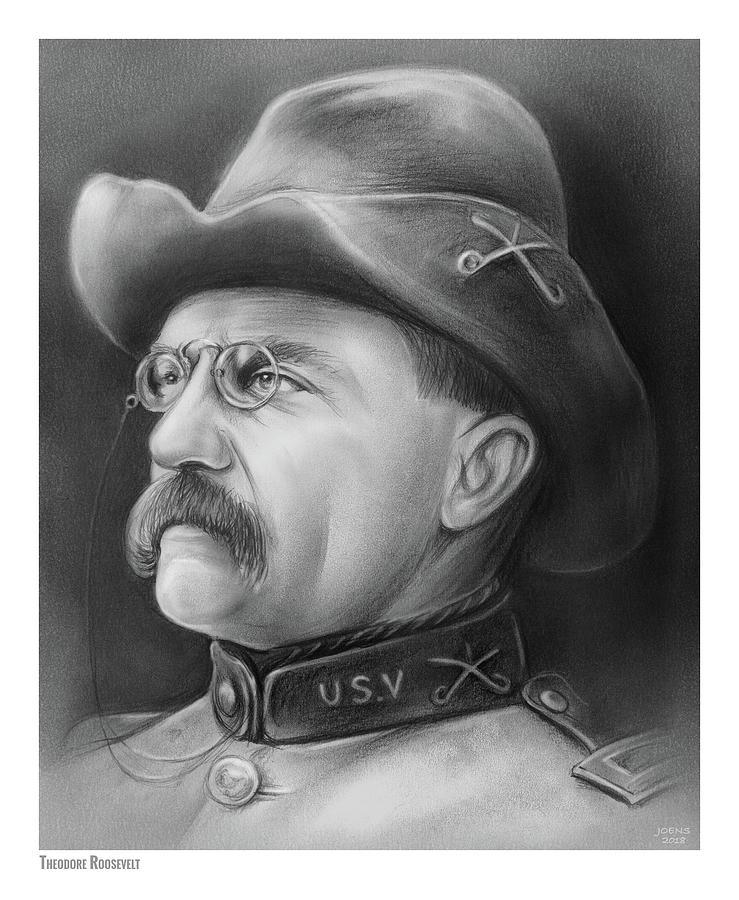 President Teddy Roosevelt Drawing