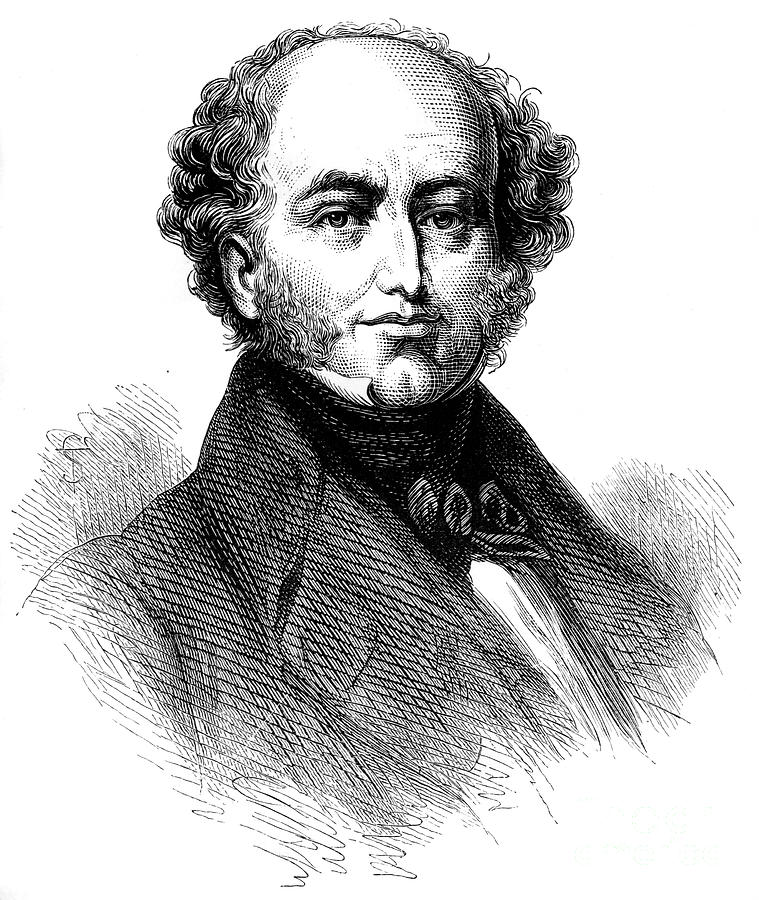 President Van Buren 1782-1862, American Drawing by Print Collector