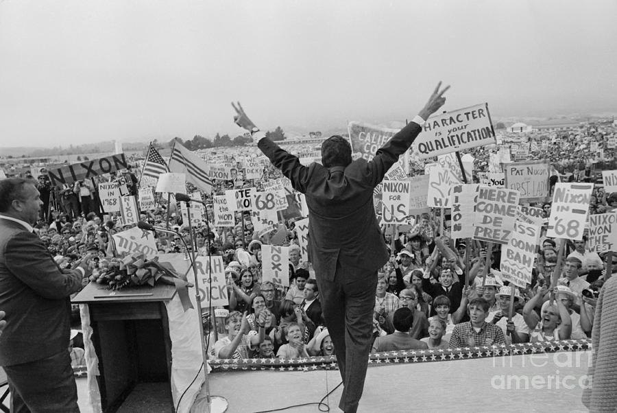 Presidential Candidate Richard Nixon Photograph by Bettmann