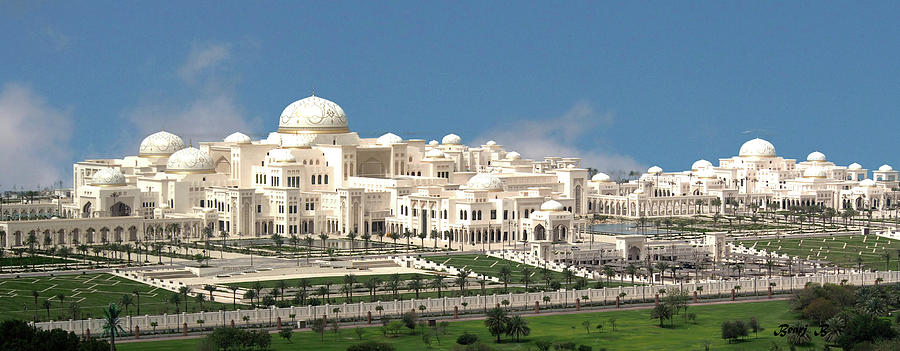 Presidential Palace by Bearj B Photo Art