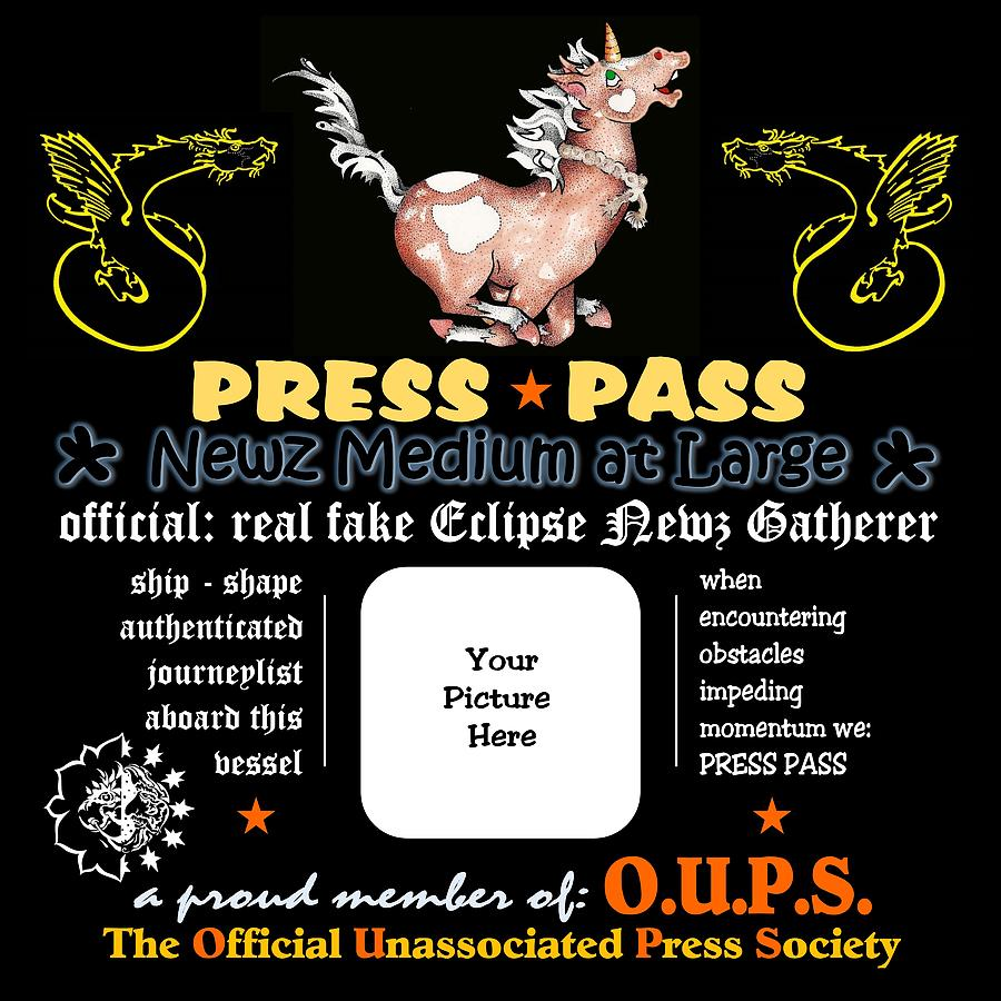 Press Pass Chigger by Dawn Sperry