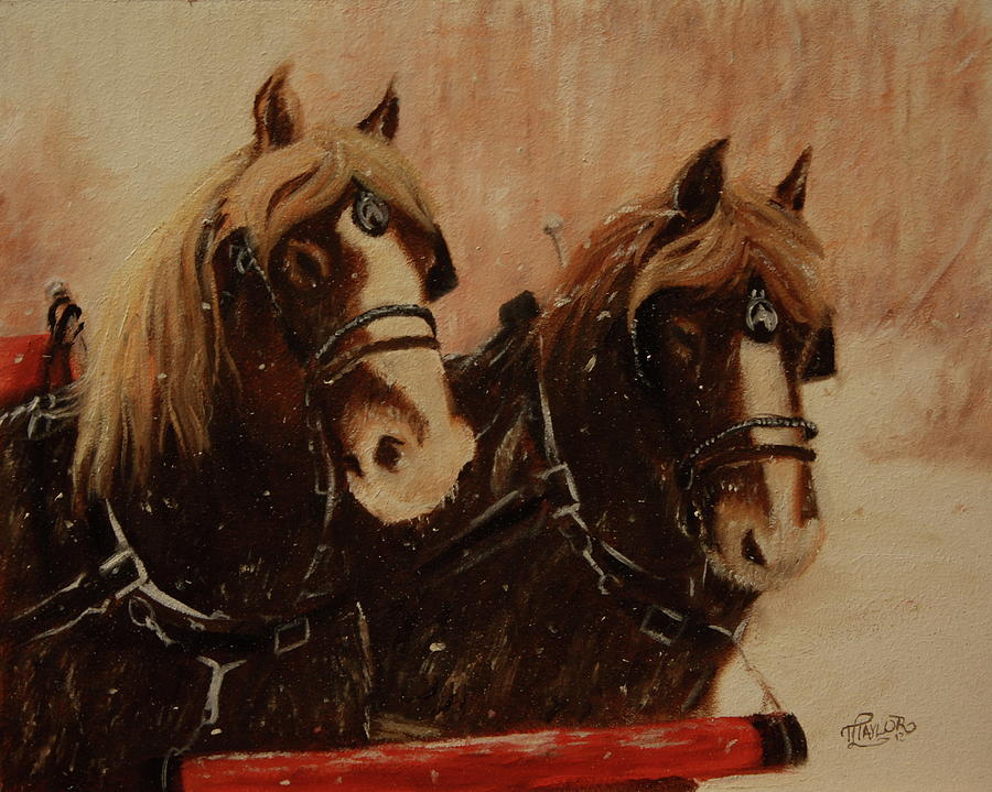 Pressin On Painting by Tammy Taylor