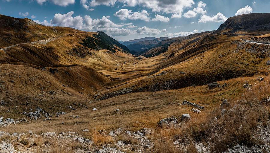 Pretty mountains of Transalpina by Jaroslaw Blaminsky