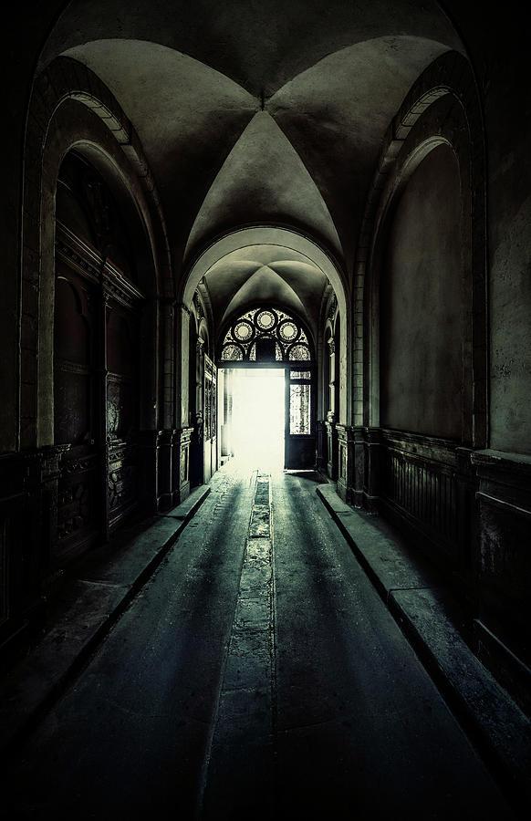Pretty Passage with arch by Jaroslaw Blaminsky