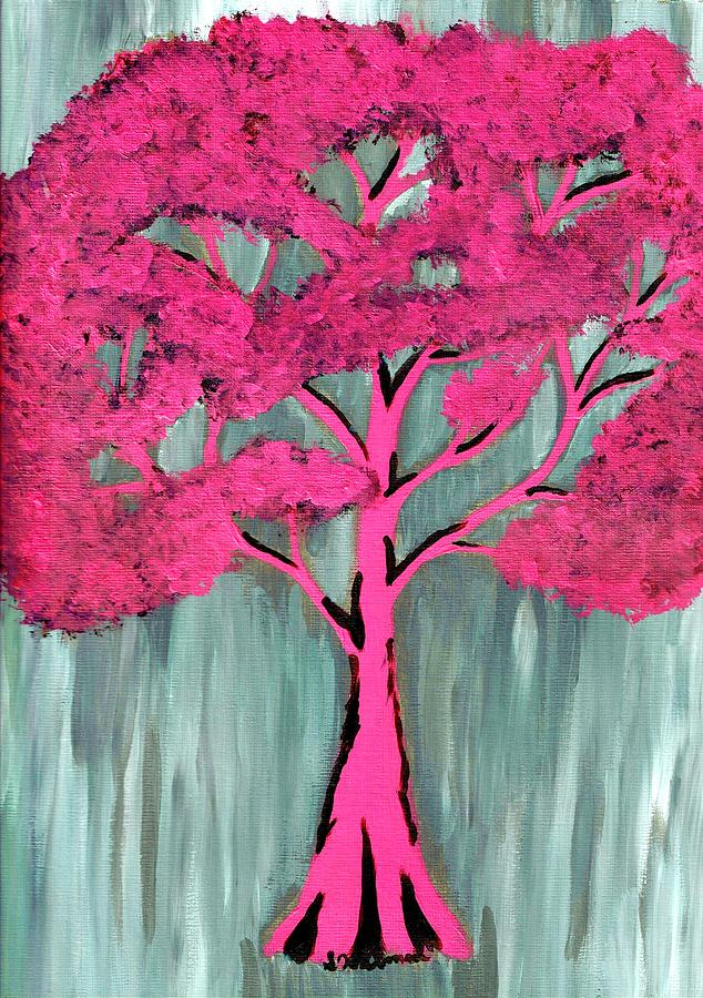 Pretty Pink Tree by Sarah Warman