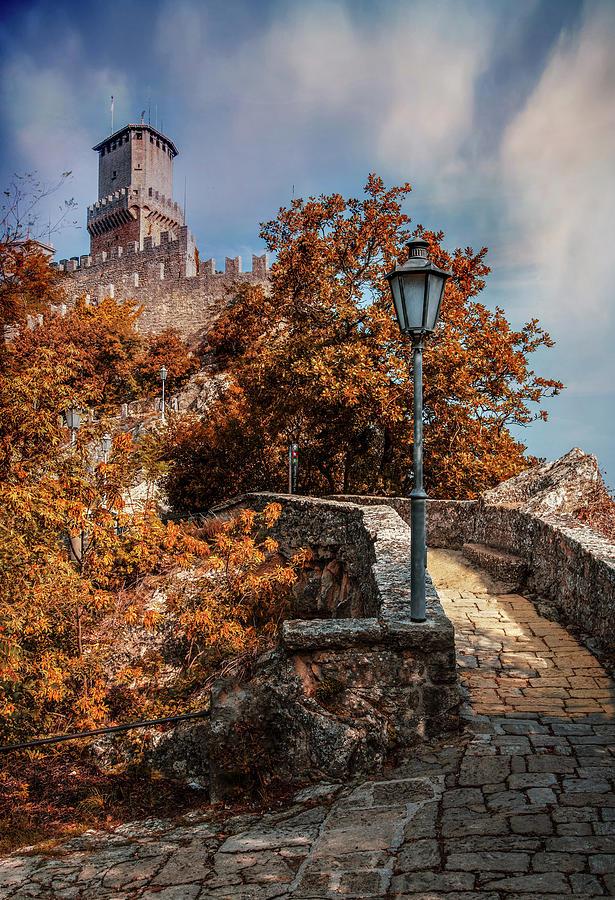 Pretty sunny afternoon in San Marino by Jaroslaw Blaminsky