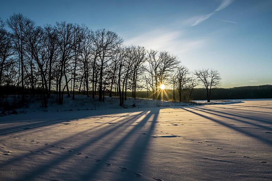 Pretty Winter sun rise scene by Sven Brogren