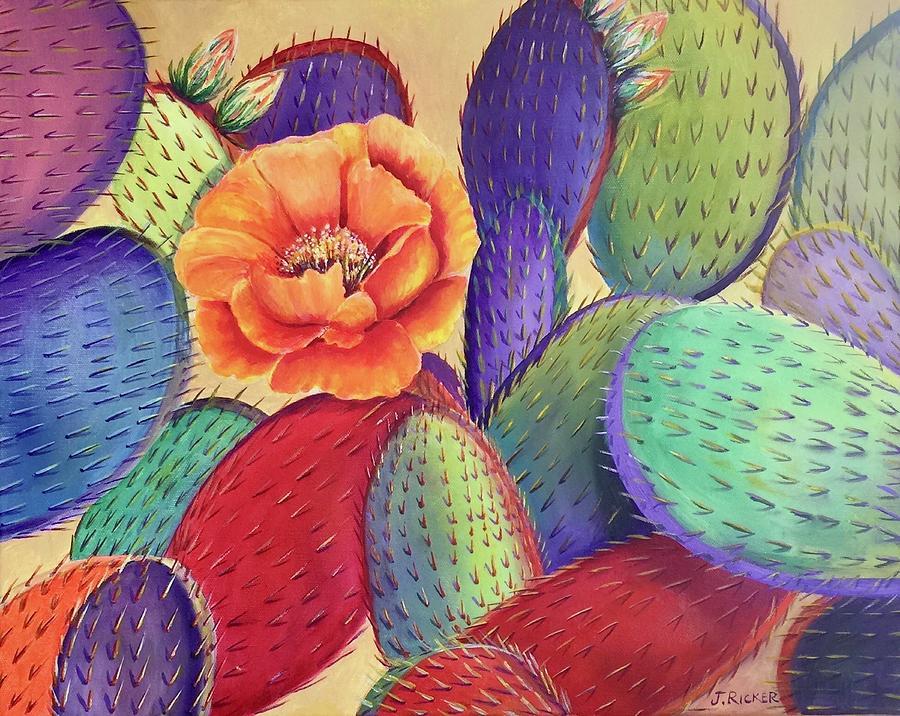 Prickly Rose Garden by Jane Ricker
